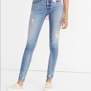 """Madewell Jeans Petite 9"""" High-rise skinny jeans"""